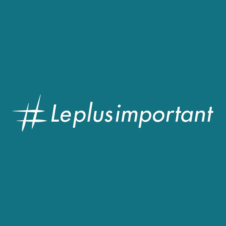 Logo #LePlusImportant